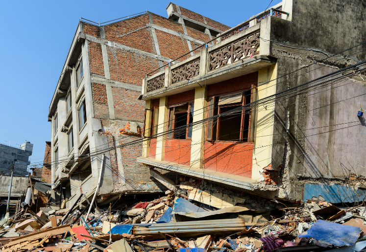 earthquake aftermath insurance