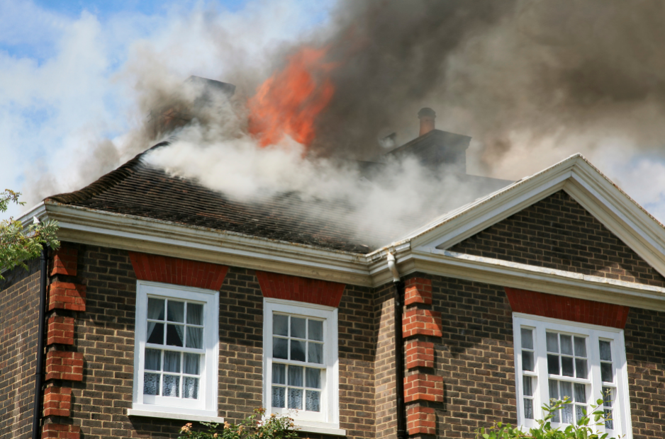 house fire homeowner's insurance